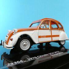 Vitesse 23364 CITROEN 2cv Spot Diecast Model Orange and White 1976 1 43rd Scale