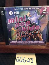 K-Tel Presents Mini Pop Kids 2 Cd Set! 24 Top Hits! MiniPop Kids! Ggg23