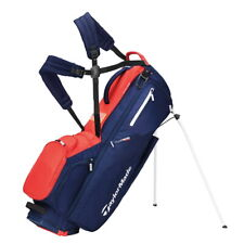 TaylorMade Flextech Stand Golf Bag - New 2021 - Navy/Red/White