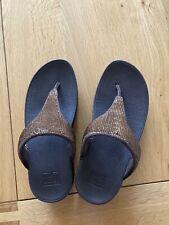 Fit Flop Toepost Sandals Size 3