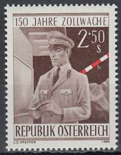 Österreich Austria 1980 ** Mi.1656 Zoll Zöllner Customs Officer