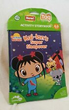 Kai'lan's Super Sleepover Leap Frog Tag Activity Storybook Ages 4-6 - NEW