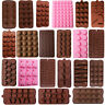 1Pcs Silicone Chocolate Moulds DIY Cake Decorating Candy Cookies Baking Mold