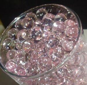 Water Beads - Deco gel Beads ( Pink Lemonade ) Custom Centerpiece , Vase Fillers