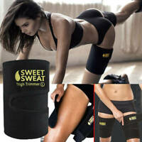 1Pair Sweat Sauna Belt Thigh Trimmer Shaper Fat Burner Body Slimming Cincher New