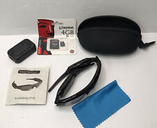 Stealth Mobile Eyewear Recorder Sunglasses DVR Camera With Charging Cable, Case