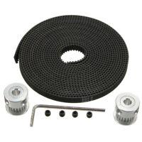 Aluminum GT2 Timing Belts+20T 5mm Bore Pulley Parts For 3D Printer RepRap Prusa