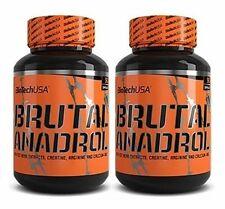 Biotech USA Brutal Anadrol 2 x 90Kapseln Testosteron Booster AAKG + Bonus