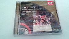 "HEITOR VILLA-LOBOS ""BACHIANAS BRASILEIRAS 1,2,5"" CD 11 TRACKS PRECINTADO"