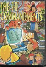 The 10 Commandments (for children ages 2-8) - NIB DVD