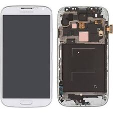 Original Samsung S4 AT&T I337 LCD Screen with Frame (White)