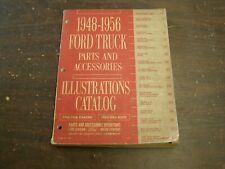 Original Ford 1948 1956 Truck Master Parts Book 50 1951 1952 1953 1954 1955 nos