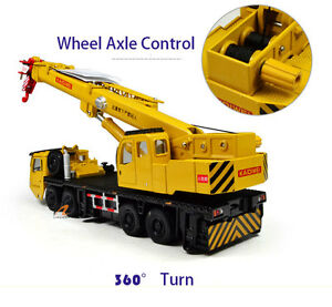 1:64 Chinese Machinery Lift Crane Truck Construction Equipment Diecast Model