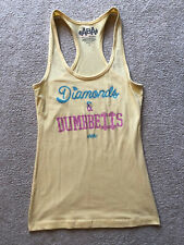 "Aba Sports Apparel Sport Tank Top ""Diamonds & Dumbbells"" Activewear Small S"