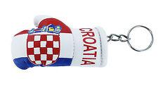 Keychain Mini boxing gloves key chain ring flag key ring cute croatia croatian