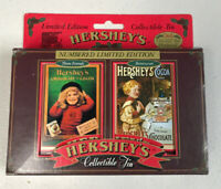 Hershey's Playing Cards Original Collectible Tin Limited Edition #016325 1997