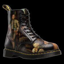 New DR. MARTENS Pascal Hogarth Renaissance Artist Boots RARE Men's Sz 13 EUR 47
