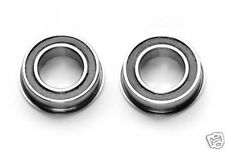ROULEMENT A BILLES 10X15X4 F 6700 2RS EPAULES FLANGED (2pcs) RODAMIENTO RC