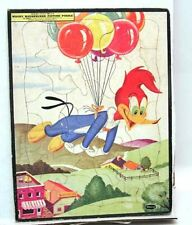 1954 WOODY WOODPECKER Whitman Frame-Tray Puzzle