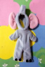 Kelly Fashion Chelsea Tommy Small Doll Clothes *Elephant Costume Jumpsuit* New