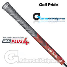 Golf Pride New Decade Multi Compound MCC Plus 4 Grips - Black / Red  x 1