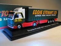 EDDIE STOBART MODEL SCANIA TRUCK LORRY 420 CURTAINSIDER SCALE 1:76 BOXED NEW