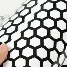 Waben Aufkleber Auto Motorrad Sticker Wabenmuster Schwarz Netz Gitter Muster