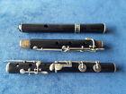 Antique Vintage Old Wooden Irish 10 Key D Flute