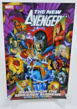 New Avengers Search for Sorcerer Supreme Marvel Comics TPB Trade Paperback NEW