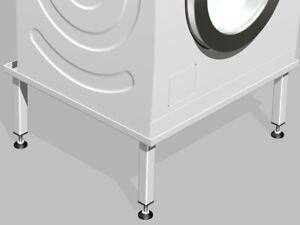 Waschmaschinen /Trockner Untergestell Podest Sockel Unterbau Gestell 20cm hoch