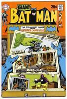 BATMAN #218 VF, Giant G-67, DC Comics 1970