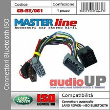 CONNETTORE ISO INTERFACCIA BLUETOOTH PER LAND ROVER DISCOVERY 4 DAL 2010 IN POI.