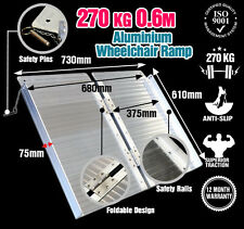 Wheelchair Ramp 2FT Aluminium Folding Mobility Scooter Portable Loading Ramps