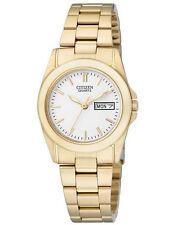 Runde Citizen Quarz - (Batterie) Armbanduhren für Damen