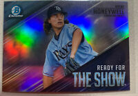 2019 BOWMAN CHROME READY FOR THE SHOW BRENT HONEYWELL #RFTS19 RAYS ROOKIE RC