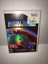 Mortal Kombat: Armageddon (Nintendo Wii, 2007) Complete w/ Manual Tested