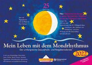 Mein Leben mit dem Mondrhythmus 2022 Taschenkalender von Edith Stadig