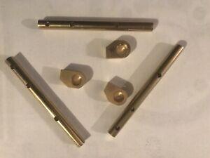 JAGUAR XKE E-TYPE 3.8, 4.2  SIE SET OF 3 Choke REBUILD KIT SHAFTS & CAMS 1961-67