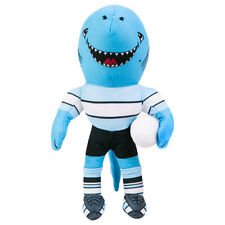 Cronulla Sharks NRL Plush Teddy Bear Toy Sublimated 2018 MASCOT Embroidered Gift