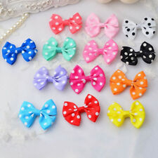 EE_ EG_ 10PCS BABY TODDLER GIRL BOWKNOT DOTS LACEWORK LEOPARD HAIR CLIPS HAIRPIN