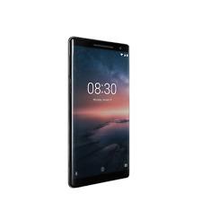 """NUOVO Nokia 8 SIROCCO BLACK 5.5"""" 128GB OCTA CORE 6GB LTE Android 8 SIM Gratis Regno Unito"""