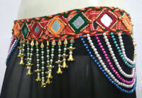 Ethnic Vintage Banjara Tribal BELT Rave Festival Belly dancer hip scarf Jewelry