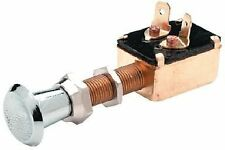 BOAT MARINE EQUIP Push - Pull Switch Spade Connection SPST 2 Position Off - On