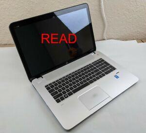 "READ HP ENVY 17-j137cl i7-4710MQ 2.50GHz 16GB RAM 1TB HDD 17.3"" Touch WIN10H"