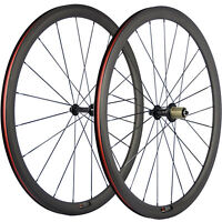 700C Clincher Carbon Road Wheel 38mm Bike Carbon Wheelset Race Bicycle Wheels