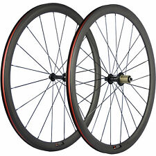 700C Clincher Carbon Road Wheel 38mm Bike Carbon Wheelset Race Bicycle Wheels