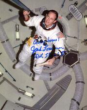 JACK LOUSMA SIGNED AUTOGRAPHED 8x10 PHOTO SKYLAB 3 ASTRONAUT NASA BECKETT BAS