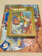 Vintage Whitman Jigsaw Puzzle Bugs Bunny In Box Complete