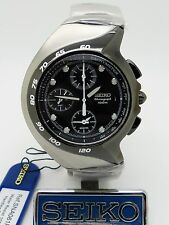 Vintage SEIKO Alarm Chronograph 7T62-0AM0 Ref: SNA061P1 Superb Design Box/Papers