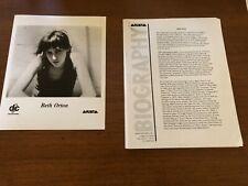 Beth Orton Vntg 8x10 Press Photo & Press Kit